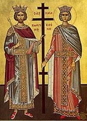 Saints Constantine and Helen Equal to the Apostles, Matins and Divine Liturgy